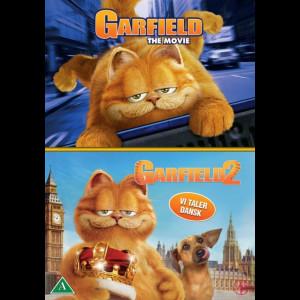 Garfield 1 + Garfield 2  -  2 disc