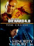 Die Hard 4.0 +Minority Report  -  2 disc