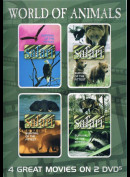 World Of Animals  -  2 disc (4 film) (Safari - Survival Of The Fittest: Eagles+The grizzly Bear m.fl.))